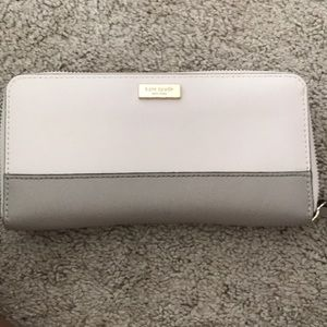 Kate space cream colored wallet
